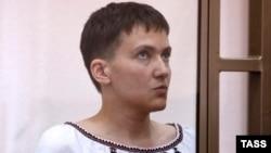 Надія Савченко під час суду, 3 березня 2016 року