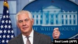 Sekretari amerikan i Shtetit, Rex Tillerson.