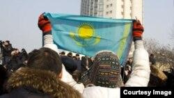 Протесты в Казахстане