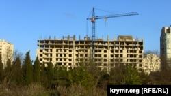 Иллюстративное фото: Крым, Севастополь, строящиеся многоэтажные дома