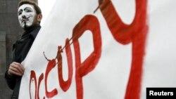 """Движењето """"Окупирај го Вол Стрит"""", планираше протести за време на Самитот на Г-8 во Чикаго"""