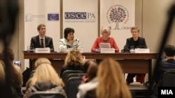 Архивска фотографија: Прес-конференција на ОБСЕ / ОДИХР по претседателските избори 2019