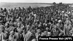 Советские военнопленные, июнь 1942 года