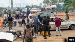 Policia duke kryer hetime pas një sulmi të mëparshëm me bombë në Abuxha