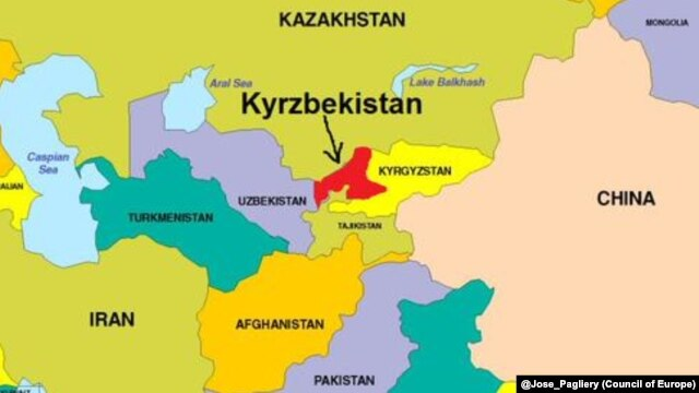 To deny Kyrzbekistan's existence would be a mistake. One need only look at its Twitter page and rapidly growing following to realize that Kyrzbekistan is definitely on the map.