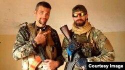 المقاتلان الغربيان جيمي ريد وبوك كلاي، 20 شباط 2015