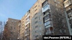 Три дома по улице Интернациональная в Уфе