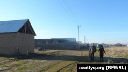 Шымкент маңындағы шағын аудандардың бірі. 2016 жыл