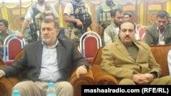 د افغانستان وزیر دفاع بسم الله احمدي د ننګرهار مومند قام له مشرانو سره ویني