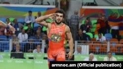 Бразилия -- Армянский борец Мигран Арутюнян, 16 августа 2016 г.