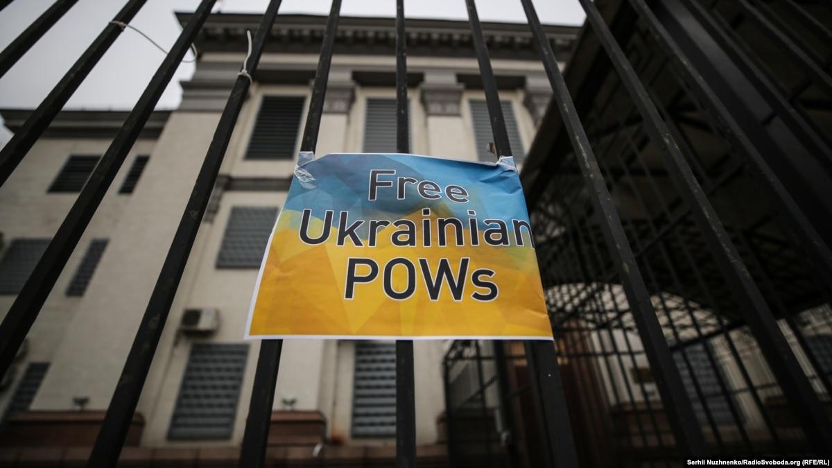 #SaveHryb: Под посольством России требовали освободить украинского политического узника
