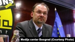 Известувачот на Европскиот парламент за Србија Јелко Кацин.