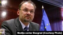 Известувачот на Европскиот парламент за Србија, словенечкиот европратеник Јелко Кацин