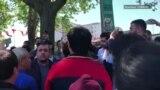 Стамбул: трудовые мигранты провели акцию протеста