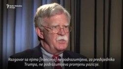 Bolton u Ukrajini: Nametnuli smo više sankcija Rusiji nego EU
