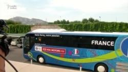 Fransa millisi Marseli tərk etdi