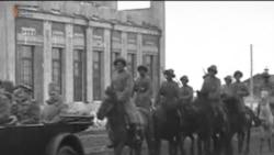 1919 жылғы видеодағы «қазақ әскері»