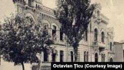 Sediul FrontOtdel din Chișinău (Liceul de fete Dadiani, actualmente Muzeul de Arte)