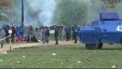 Izbjeglice u kampu u Sloveniji