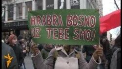 Beograd: Građani podržali demonstrante u BiH