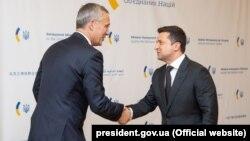 Зеленский призвал генерального секретаря НАТО Йенса Столтенберга к увеличениюприсутствия флотов стран НАТО в Черном море
