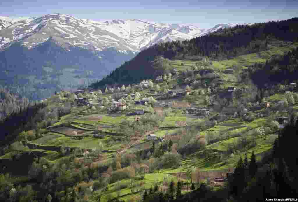 Его делают только в горах Аджарии на западе Грузии