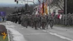 НАТО ҳарбий техникасининг Шарқий Европа бўйлаб юриши Германияда тугади
