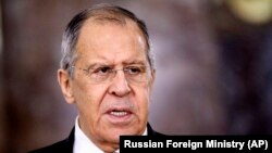 The move against the Ukrainan companies came on the same day that Russian Foreign Minister Sergei Lavrov said his country was ready to sever ties with the European Union if the bloc hit it with economic sanctions.