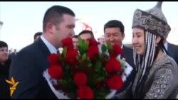Спикер Чехии с визитом в Бишкеке