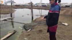 Атыраудағы су басқан үй иелері шағымы