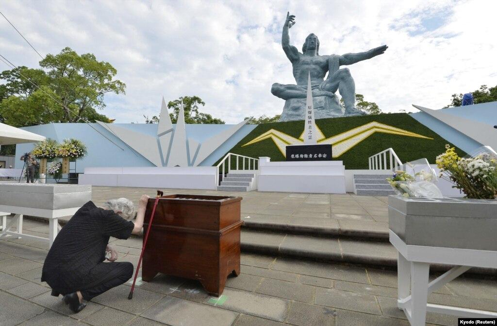 ВНагасаки почтили память погибших ватомной бомбардировке