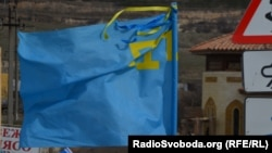 Ukraine -- Crimean women again rally for peace, Crimea, Simferopol, 06Feb2014