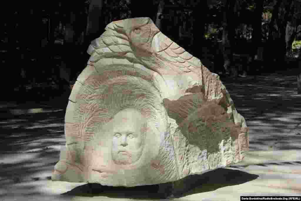 «Діоген» черкаського скульптора Івана Лавріненка. Третє місце