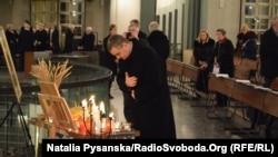 Вшанування у Берліні жертв Голодомору в Україні 1932–1933 років. Берлін, 25 листопада 2016 року