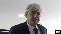 Али Ахмети, претседател на ДУИ.