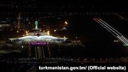 Türkmenistanyň täze halkara aeroporty