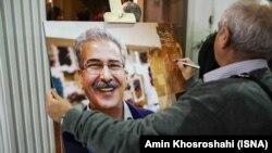 مسعود مهرابی علاوه بر کتابهای سینمایی در زمینه کاریکاتور هم صاحب تألیفاتی است.