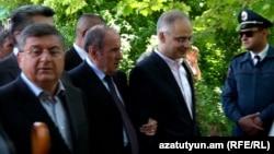 Руководство АНК во время мероприятий, посвященных Дню Победы, Ереван, 9 мая 2016 г․