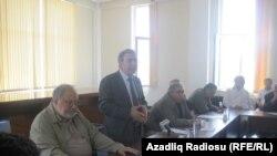 Собрание Форума интеллигенции Азербайджана, 15 мая 2012
