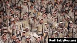 Бойцы курдской милиции. Селение Хасака, северо-восток Сирии, 23 января 2018 года.