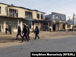 Сотрудники полиции в Масанчи