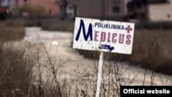 Tabla za Medicus kliniku