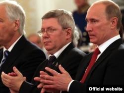 Владимир Путин и Александр Торшин