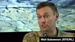 چارلز کلیفلند سخنگوی قوای ایتلاف تحت رهبری امریکا در افغانستان