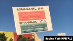 România - nou protest antiguvernamental la București, 12 august 2018