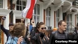 Минскида протест белдерүчеләр