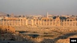 Fotografi nga qyteti i lashtë sirian, Palmyra
