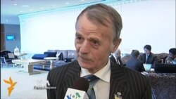 Veteran Crimean Tatar Leader: 'We Don't Believe Russian Promises'