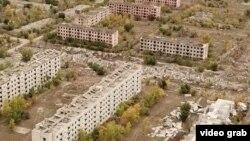 Сары-Чаган: заброшенный город испытателей ядерных ракет в Казахстане