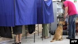 Glasanje u Grčkoj